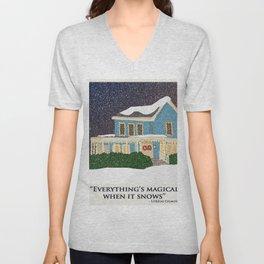 Gilmore girls house Unisex V-Neck