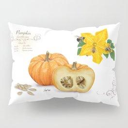 Pumpkin and Pollinators Pillow Sham