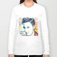 elvis Long Sleeve T-shirts featuring Elvis by Phil Fung