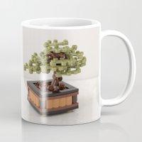 zen Mugs featuring Zen by powerpig
