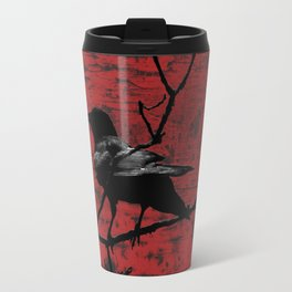 Crow Rust Industrial Red A673 Travel Mug