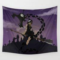 medusa Wall Tapestries featuring Medusa by Arnix