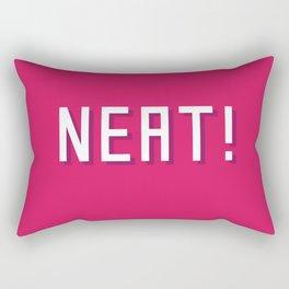 NEAT! Rectangular Pillow
