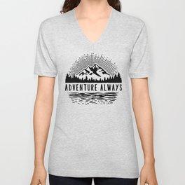 Adventure Always Unisex V-Neck