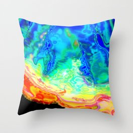 A different kind of algae Throw Pillow