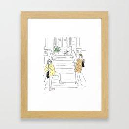 Willow St.  Framed Art Print