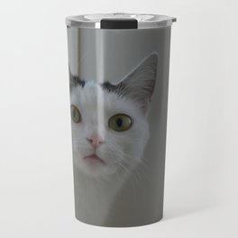 Green eyes Travel Mug