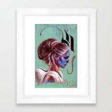 Gardenia Framed Art Print