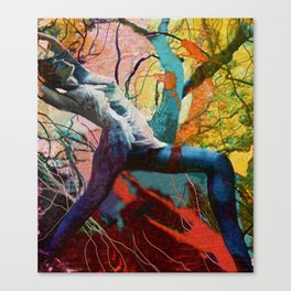 Dancing in the Forest Canvas Print