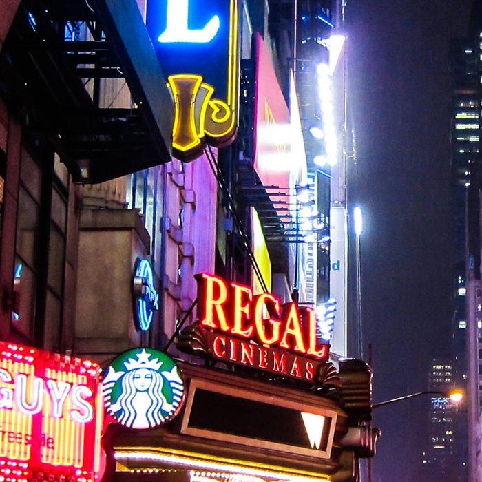 New York City Night Leggings