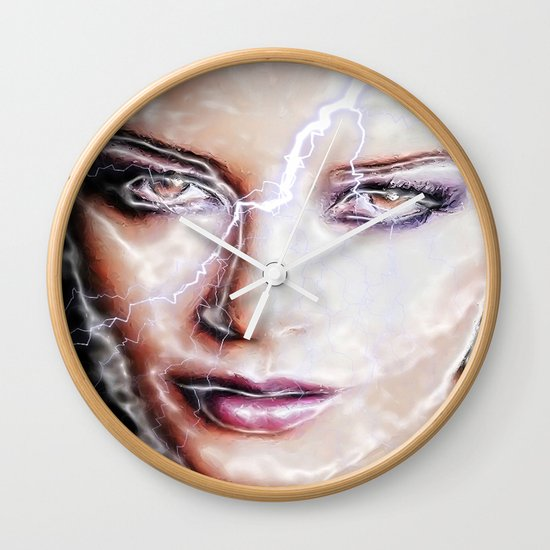 Shes Electric Wall Clock