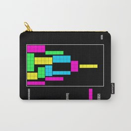 Level 1 black Carry-All Pouch