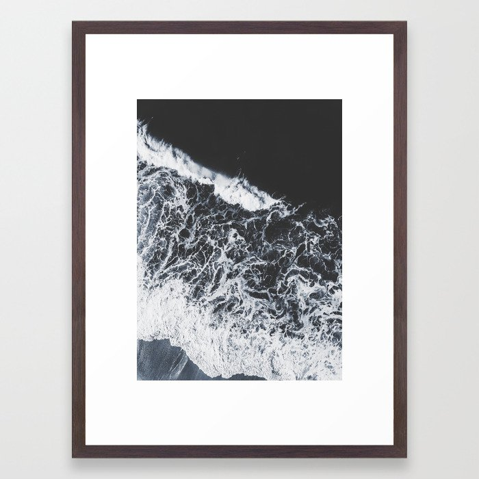 sea lace Framed Art Print by ingz | Society6