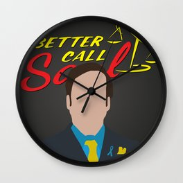 "Saul Goodman "" Better Call Saul ""  Wall Clock"