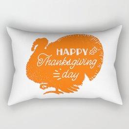 happy thanksgiving day t-shirt T-Shirt Rectangular Pillow