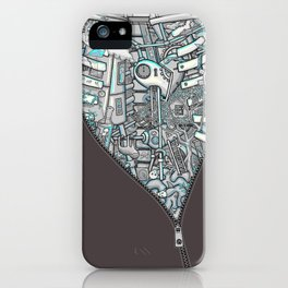 Crazy on the Inside iPhone Case