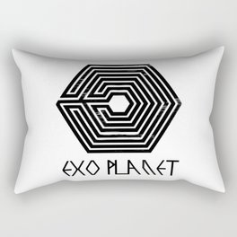 Exo Planet Rectangular Pillow