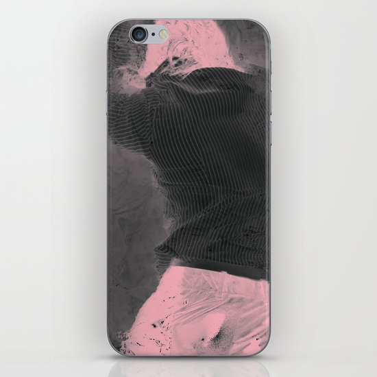 Pink Erosion iPhone & iPod Skin