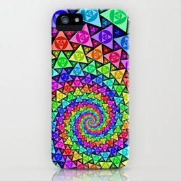 PsycoSpiral iPhone Case