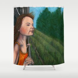 Spring smell Shower Curtain