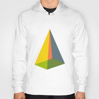 pyramid Hoodies featuring Pyramid by MAGNA