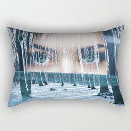 WILD FACE 01 Rectangular Pillow