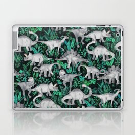 Dinosaur Jungle Laptop & iPad Skin