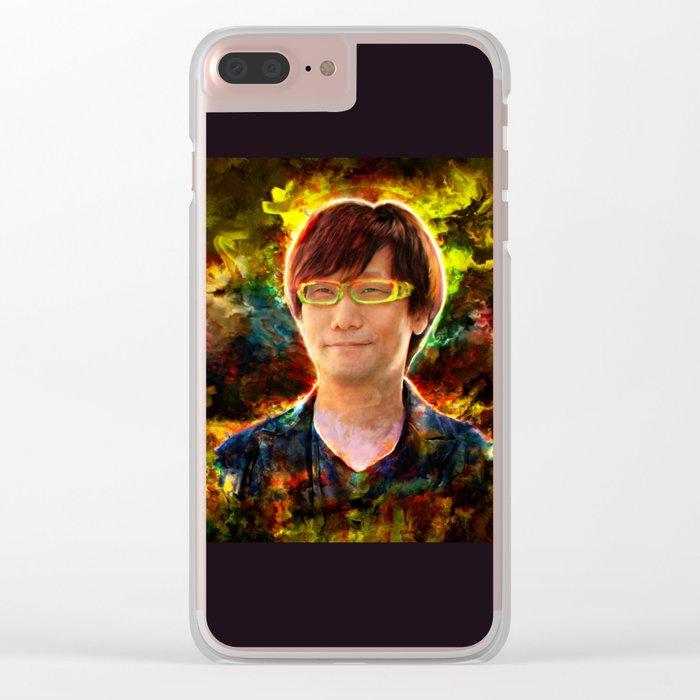 Hideo Kojima Clear iPhone Case