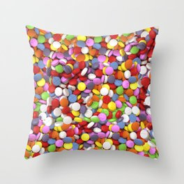 Full of X Throw Pillow
