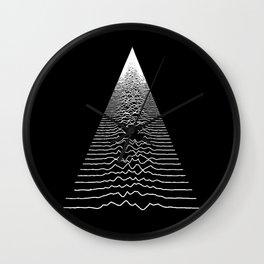 Wave Form Wall Clock