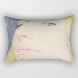 Cate Blanchett Rectangular Pillow