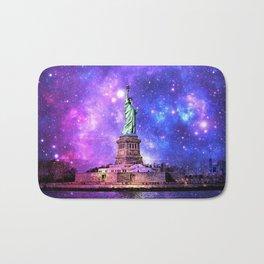 space Statue of Liberty Bath Mat