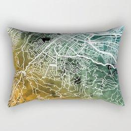 Cape Town South Africa City Street Map Rectangular Pillow