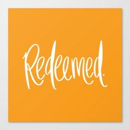 Redeemed Canvas Print