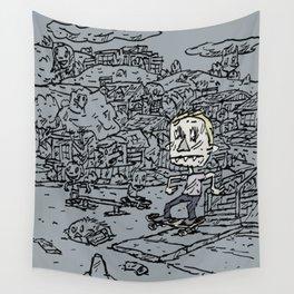 Manual pad Wall Tapestry