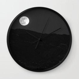 Moonrise, UC Santa Barbara Wall Clock