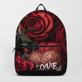 Bouquet with a declaration of love Backpack