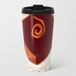 Let Them Eat Cake - Chocolate Orange Brownie Travel Mug