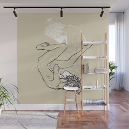 Icarus, reimagined Wall Mural