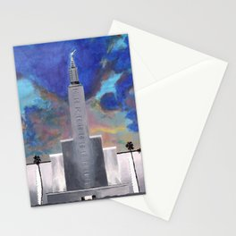 Los Angeles LDS Temple Stationery Cards