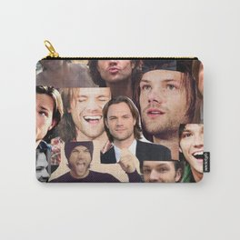 Jared Padalecki Collage Carry-All Pouch