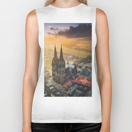 Cologne Cathedral Biker Tank