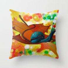 Nature's Come-back Throw Pillow