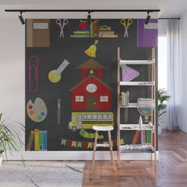 School Time design for children Wall Mural