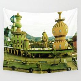 Cute amusement park. Wall Tapestry