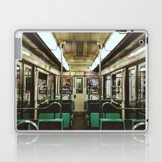 Paris Metro cab Laptop & iPad Skin