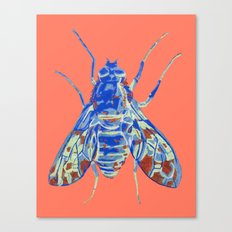 Tiger Bee Fly 2 Canvas Print