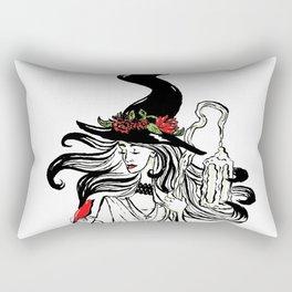 Cardinal Witch Rectangular Pillow