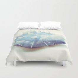 Blue Shell - Kart Art Duvet Cover