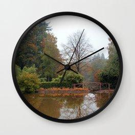 The Water Garden Wall Clock